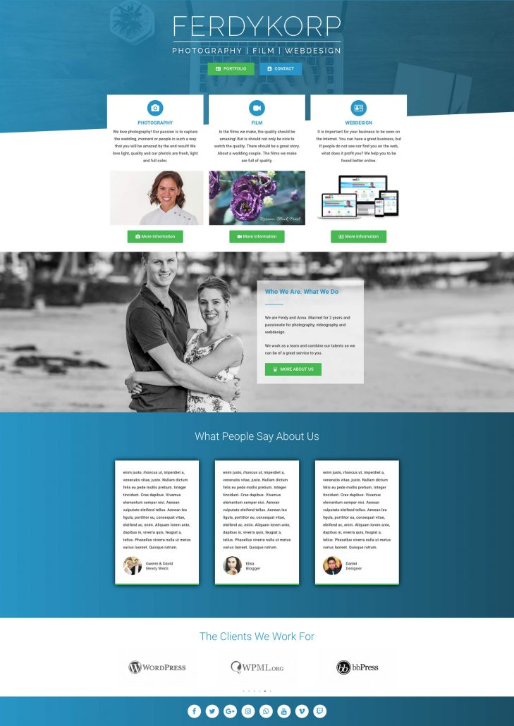 Media Business Homepage V3